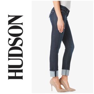 Hudson Ginny Cropped Straight Jeans